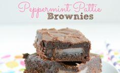 peppermint pattie brownies more cookies brownies yum desserts cookies ...