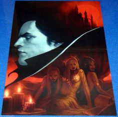 COUNT DRACULA #1 MARVEL COMIC BOOK POSTER VAMPIRE MAIDENS HORROR SEXY SIRENS HOT