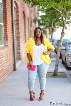 Color Pop | Plus Size Fashion | TrendyCurvy