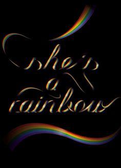 she's a rainbow www.blindsalida.fr