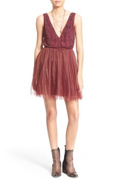Deja Vu Embroidered Minidress by Free People on @nordstrom_rack