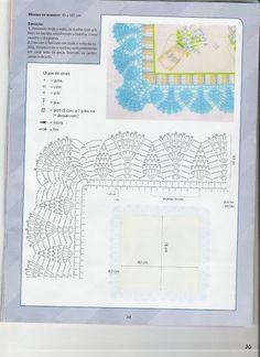 barradinho de croche - Jozinha Crochê e pintura - Álbumes web de Picasa