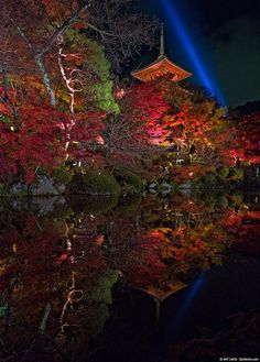 Kiyomizu-dera, Kyoto, Japan by Jeff Laitila