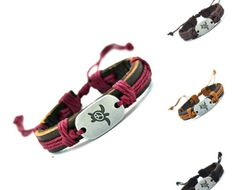 Sea Turtles 4 Colors Leather Adjustable Animal Bracelet US SELLER by VaderUnlimited on Etsy