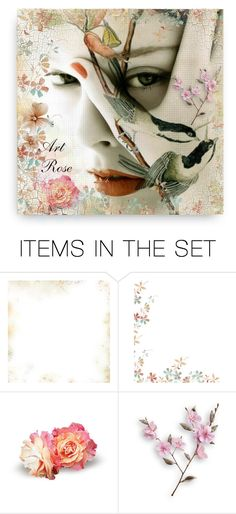 """Art & History Rose"" by magnolialily-prints ❤ liked on Polyvore featuring art"
