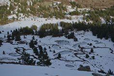 Lagunillas heladas del Pico Urbión