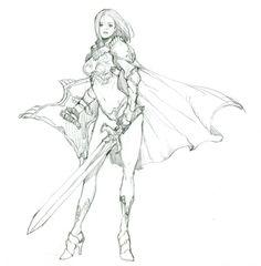 : 네이버 블로그 character art sketches, character sketches 및 Character Sketches, Character Design References, Character Poses, Character Concept, Character Art, Drawing Poses, Drawing Sketches, Art Drawings, Game Concept Art