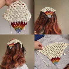 Crochet Hippie, Crochet Bee, Learn To Crochet, Cute Crochet, Crochet Crafts, Knitting Projects, Crochet Projects, Knitting Patterns, Crochet Patterns