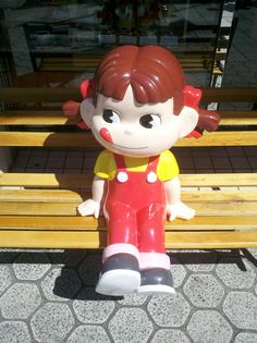 Peko-chan (I am not sure where this was taken..  I think it was Ueno or Asakusa)