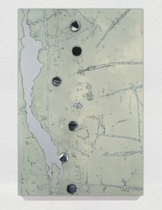 I want a map that looks like this piece by David Amico