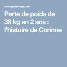 Perte de poids de 38 kg en 2 ans : l'histoire de Corinne