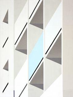 Roos Van Dijk's Architectural Paintings