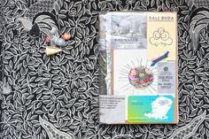 Carnet de voyage - offrandes de Bali 01
