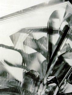 "Alvin Langdon COBURN.""Vortograph"". ca. 1917 / printed later (ca. 1950's)  gelatin silver print  29.6 x 22.4 cm."