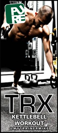 This TRX workout requires the use ofa kettlebell. Use a lighter weight the first time that you attempt this workout and increase the weight as you progress. Keep to 15 sec transition times. TRX Sq...