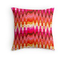 ORANGE, PINK, AND PURPLE ABSTRACT DESIGN Throw Pillow Original patterned pillows at Red Bubble! http://www.redbubble.com/people/jlporiginals/collections/448889-patterns #Patternedpillows #pillow #Abstract #Colorful #Trendy #Uniquepillow