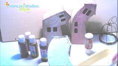 Manualidades con cartón: Cómo hacer Casas Torcidas - http://cryptblizz.com/como-se-hace/manualidades-con-carton-como-hacer-casas-torcidas/