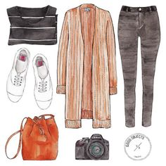 Good objects - Winter is coming… @acnestudios @mansurgavriel #goodobjects #illustration