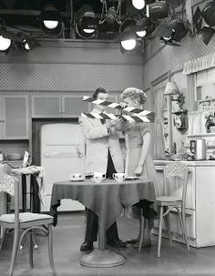 Lucille Ball  I Love Lucy production still