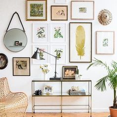 Mixed framed gallery wall inspiration. Are you looking for unique and beautiful art photo prints to curate your gallery walls? Visit bx3foto.etsy.com and follow us on Instagram @bx3foto
