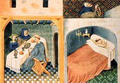 Boccace, Le Décaméron, Flandres, 1432   Paris, BnF, Arsenal, manuscrit 5070 fol. 108v