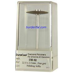 Fine Grit Wheel Shape HP Shank Diamond Polisher (DR02)