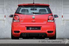 Heckdiffusor Cup, VW Polo 9N3