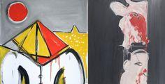 La Peinture Coup De Poing De Jacques Grinberg Au Musée D'Art Moderne De La Ville De Paris