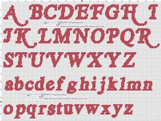 Cross Stitch Alphabet, Cross Stitch Embroidery, Embroidery Patterns, Cross Stitch Patterns, Graph Paper Art, Neon Signs, Face Paintings, Perler Beads, Charts