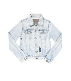 AG Jeans // Awesome light wash denim jacket