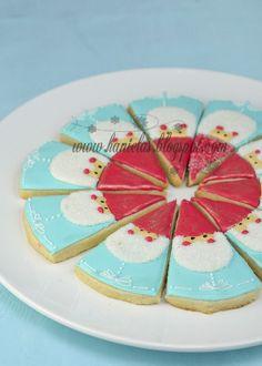 Christmas Gnome Cookies! too cute!