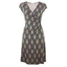 Savis Sultan Khaki von KD Klaus Dilkrath #kd #dilkrath #kd12 #klausdilkrath #outfit #dress #savis #sultan #khaki #dot #pattern #kleid #summer #look #readytowear #office