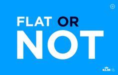 FWA winner | KLM Flat or Not
