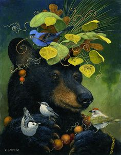 The Birdwatcher - amazing, never thought I would find a bear so irresistible! I LOVE birds though!