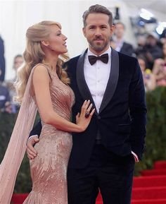Blake Lively and Ryan Reynolds at the Metropolitan Museum of Art in May.