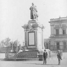 Monumento a Cristobal Colón, Ciudad de México, 1900's