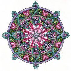 Мандала любви – особенный рисунок для привлечения любви - Эзотерика и самопознание