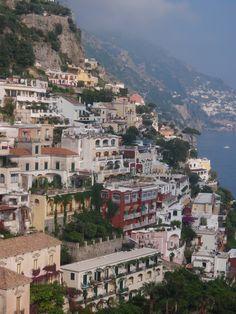 Positano's fantastic cliffside
