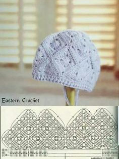 Hat crochet pattern unit