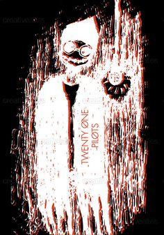 TWENTY ONE PILOTS Poster by artofascribbledmind