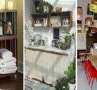 Estos son 10 de los trucos que usan las lavanderías para dejar la ropa impecable. - 10 Ideas Ladder Decor, Tan Solo, Home Decor, Fruit Crates, Bedside Tables, Space, Home, Houses, Interior Design