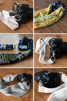 DIY: Camera strap tutorial - I'm gonna make a bunch of these to match my outfits and moods!