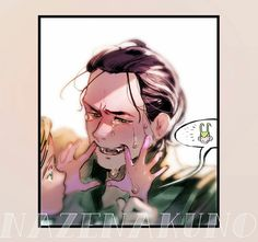"""""""<< actually he is happy to see him ^^ Thor just wants a smile Avengers Fan Art, Loki Art, Thor X Loki, Marvel Avengers, Smile Drawing, Loki Drawing, Marvel Facts, Marvel Memes, Comics Universe"""