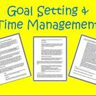 Goal Setting  Time Management This is a 3-page guide to help your students create and accomplish their goals. It reviews the SMART system of g...