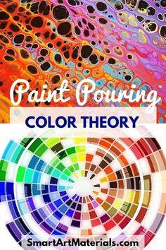 color schemes for acrylic art Pour Painting Techniques, Acrylic Pouring Techniques, Acrylic Pouring Art, Acrylic Art, Acrylic Paint Colors, Painting Tutorials, Drawing Tutorials, Drawing Tips, Flow Painting