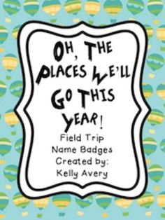 If you are tired of purchasing adhesive name tags to have to fill out or printing off labels each time your class goes on a field trip, then this download is for you!Simply choose the desired pattern you like, print off the number of name badges you need, fill out the information on the editable version or with a Sharpie on the PDF version, laminate, use badge clips or make necklaces with yarn, and voilayou will be able to reuse again and again for the remainder of the school year!Some of…