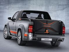 VW Amarok anticipa el nuevo interior para 2015
