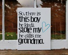 Grandsons.