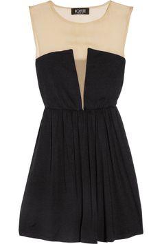 the deep cut dress