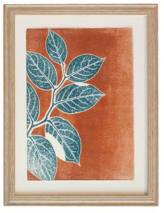 Rust Salal Study #5 by Mary Margaret Briggs